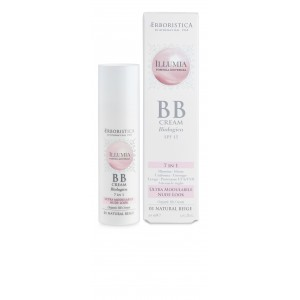 Erboristica Illumia Organic BB Cream SPF 15 7in1 Natural Biege