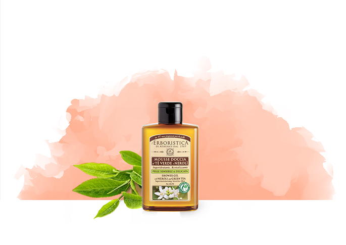 Erboristica Shower Gel Neroli & Green Tea 300 ml (Neroli Ve Yeşil Çaylı Duş Jeli)