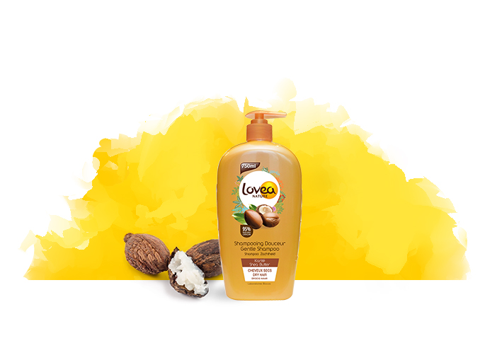 Lovea Nature Gentle Shea Yağlı Şampuan 750ml