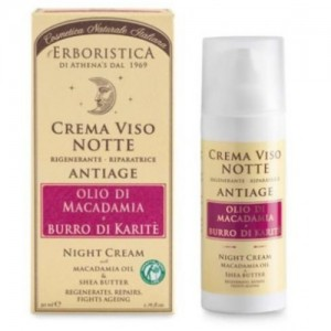 Erboristica Face Night Cream 50 ml (Gece Kremi)