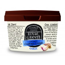 Royal Green Garlic Cooking Cream (Organik Sarımsaklı Hindistan Cevizi Yağı) 250 ml