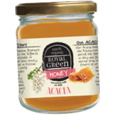 Royal Green Organic Acacia Honey (Organik Akasya Balı) 250 gr