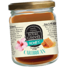 Royal Green Organic Caribbean Honey (Organik Karayip Balı) 250 gr