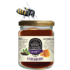 Royal Green Organic Elderberry Honey (Organik Mürver Balı) 250 gr