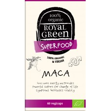 Royal Green Organic Maca 60 ad