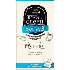 Royal Green Fish Oil (Balık Yağı Yağı) 30 ad