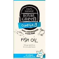 Royal Green Fish Oil (Balık Yağı Yağı) 60 ad